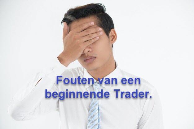 Fouten van een beginnende Trader
