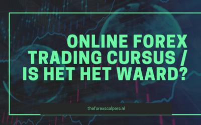 Online forex trading cursus / Is het het waard?
